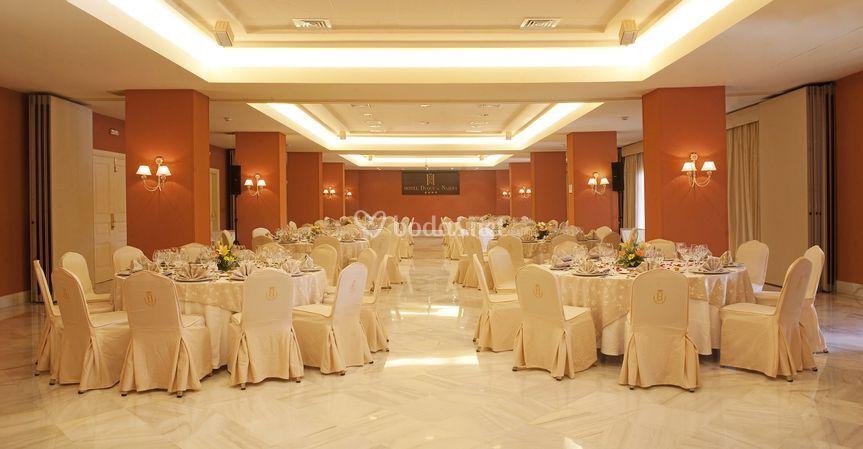 Hotel duque de najera for Acuario salon de celebraciones