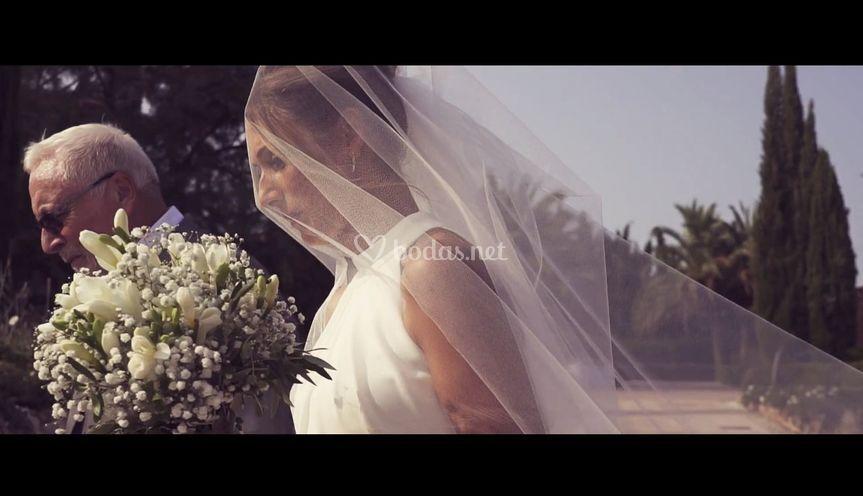 Boda de Alexandra Cabrer video
