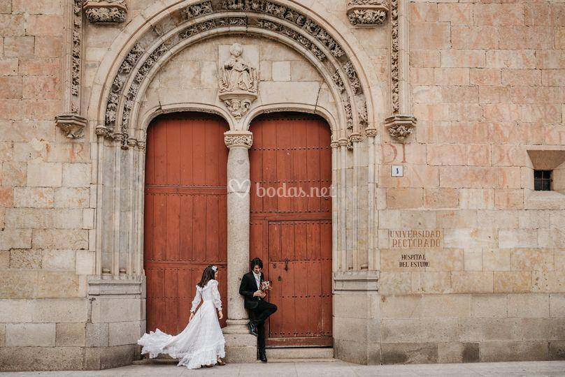 Postbodas en Salamanca