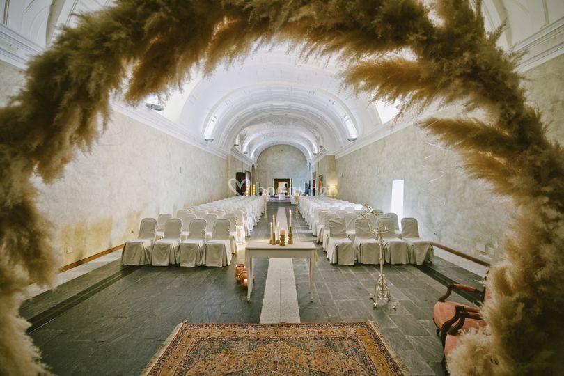 Boda civil capilla convento