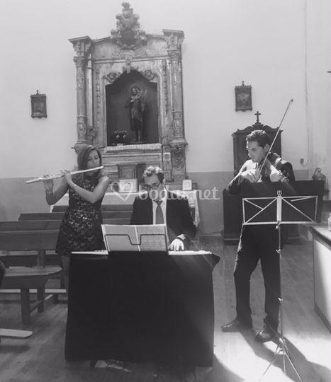 Boda religiosa trío instrumental
