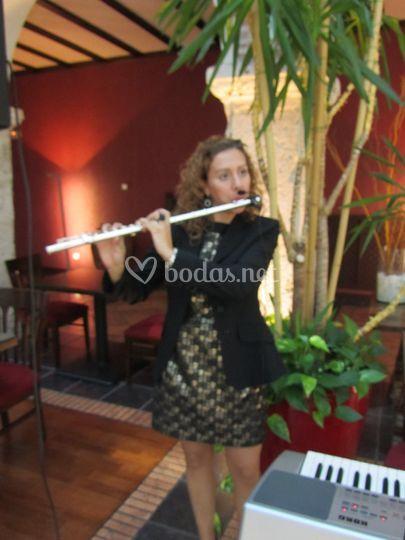 Lucía Toribio- Flautista