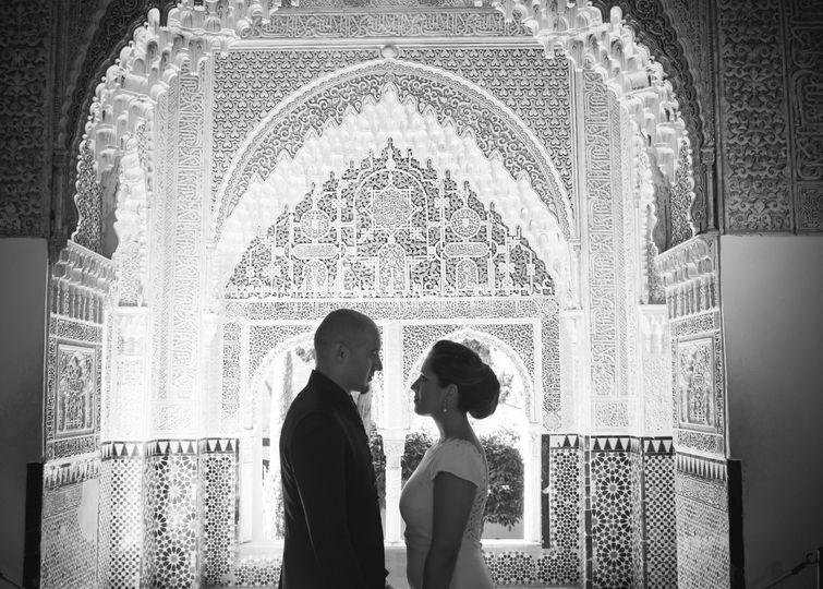 Gema & Jose, postboda en la La Alhambra