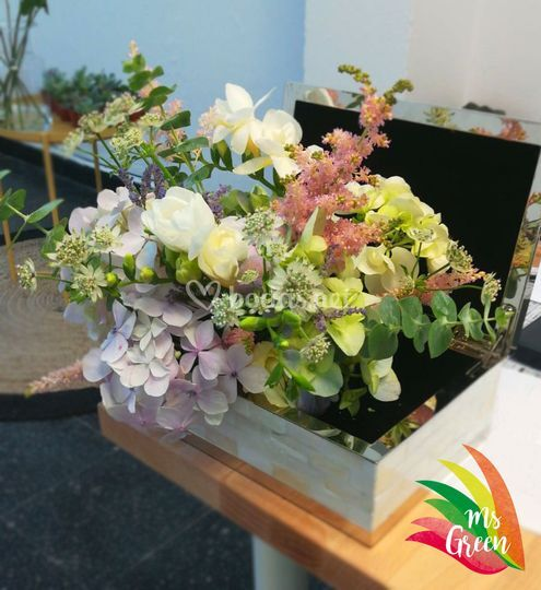 Adorno floral boda