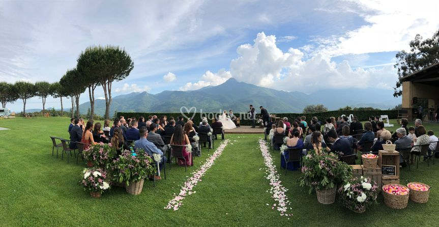 Ceremonias con vistas