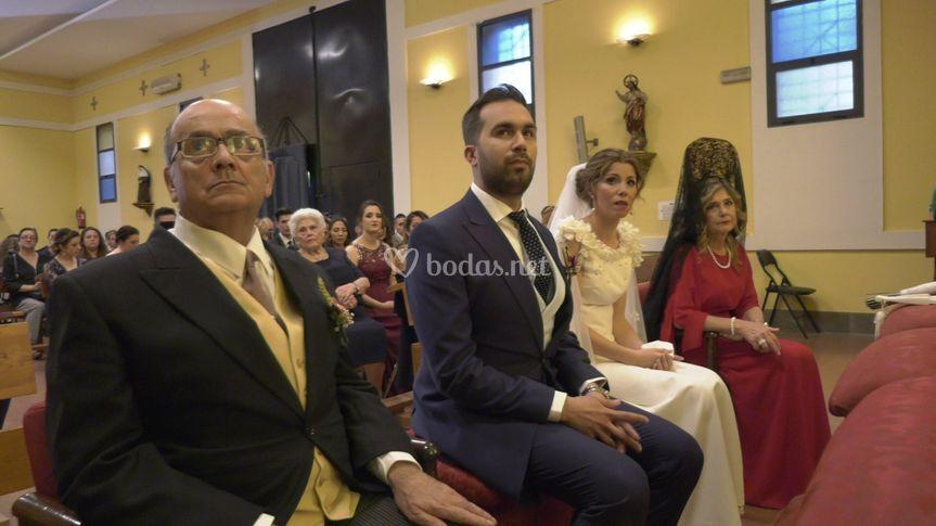 Celebración en iglesia