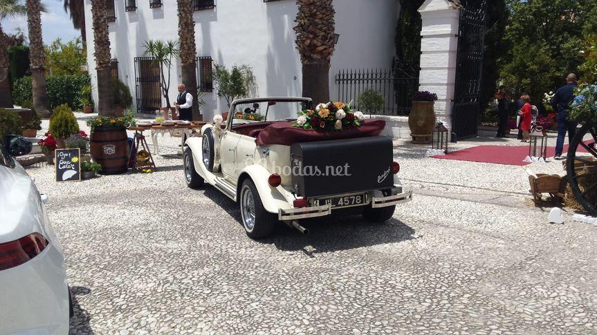 Coche para boda en Granada
