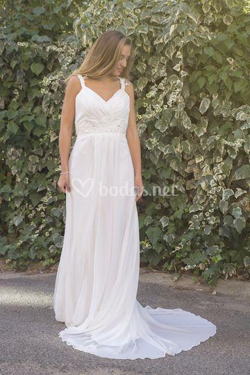 vestido de novia vintage de vega novias | foto 30