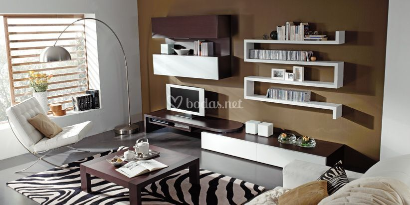 Salones minimalistas de outlet muebles salvany foto 7 for Outlet muebles