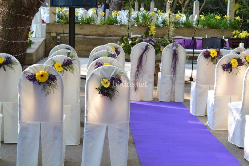 Terraza de día ceremonia civil