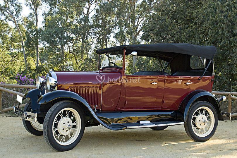 Ford a descapotable 1927