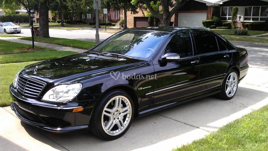 Mercedes s 55 amg 500cv