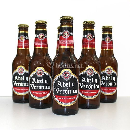 Etiquetas cerveza personalizad
