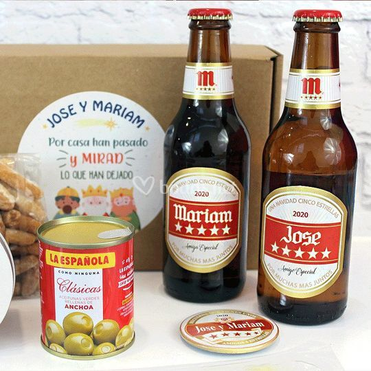 Pack cerveza personalizado