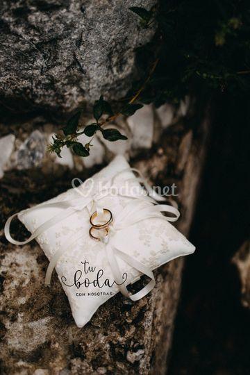 Cojines para anillos