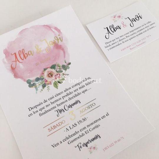 Diseño Invitaciones