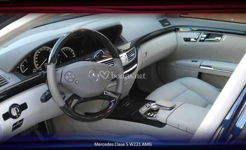Mercedes Clase S W221 AMG