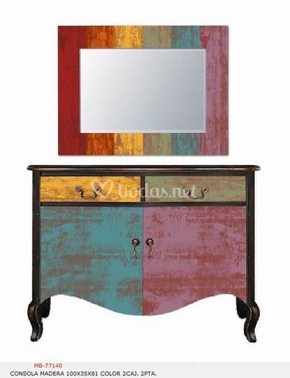 Mueble cajonero de diseño