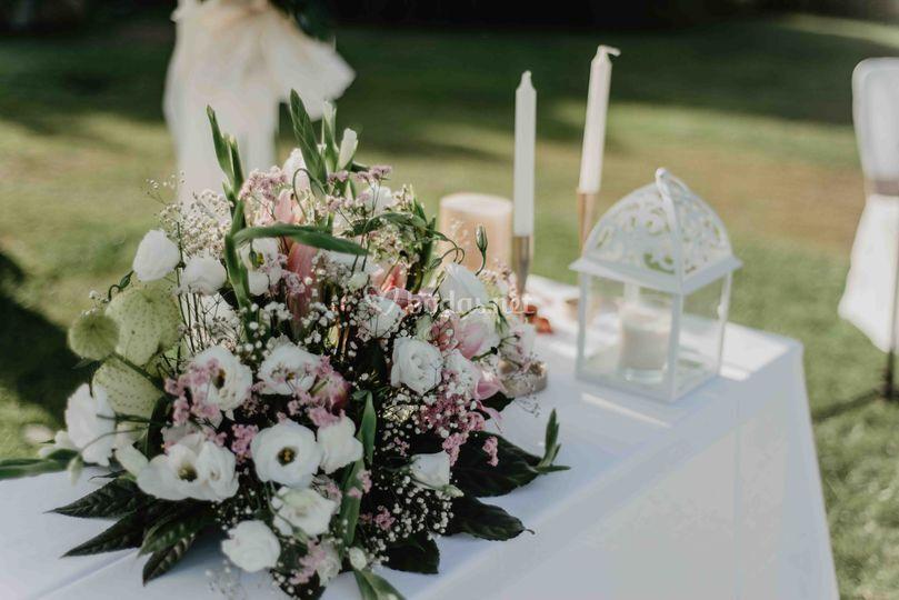 Detalle altar ceremonia