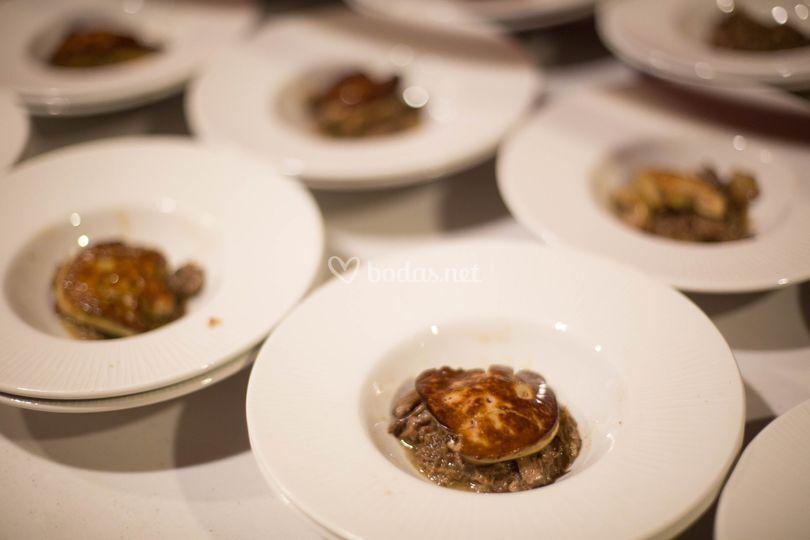 Gastronomía de Iñaki Andradas