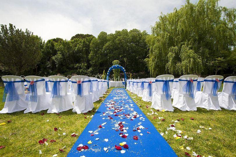 Representación de boda civil
