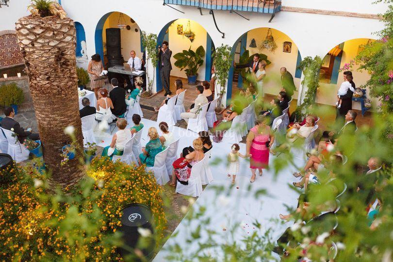 Ceremonia Patio Dos Fuentes