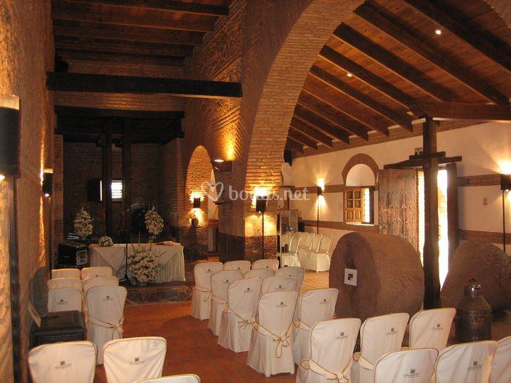 Ceremonia en el Molino