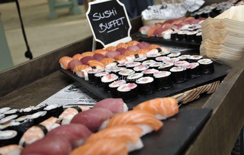 Estación sushi
