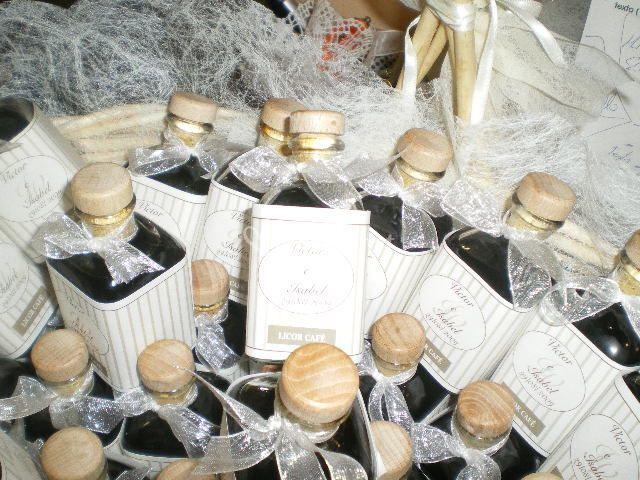 Botellitas licor cafe personalizadas