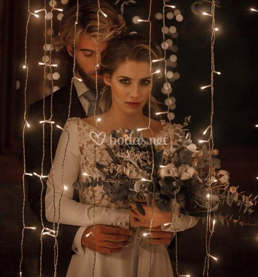 Boho romantic bride