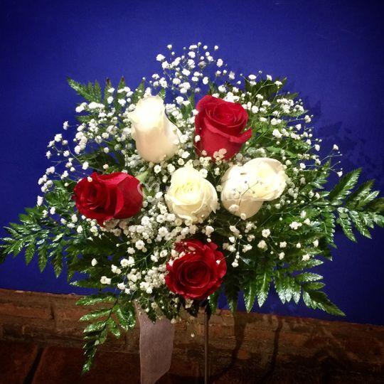 Bouquet de boda civil