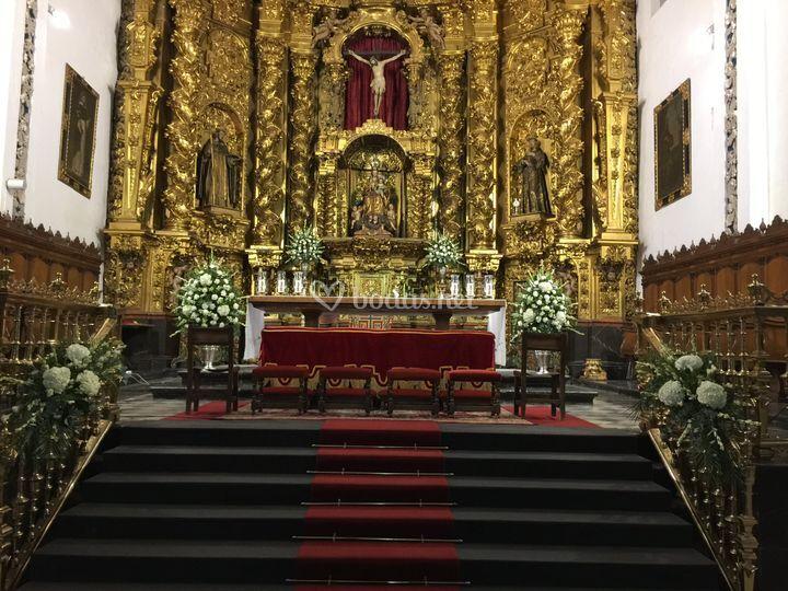 Altar de iglesia