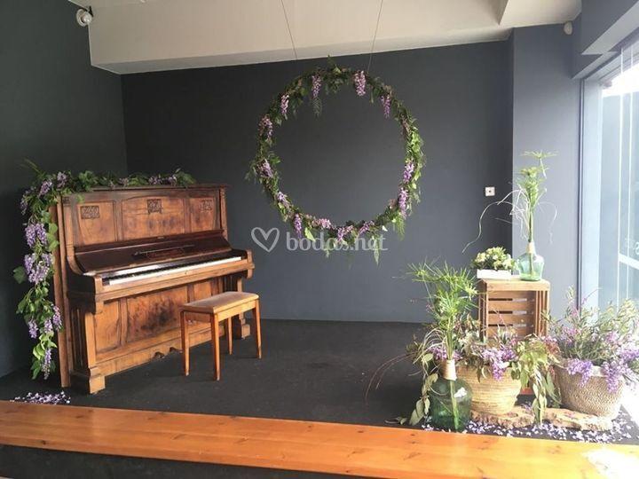 Espacios decorados