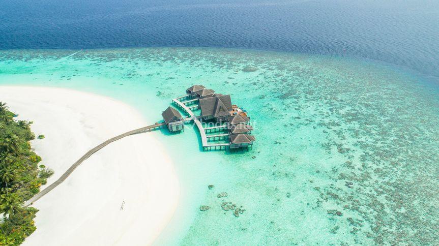 Disfrutar en Maldivas