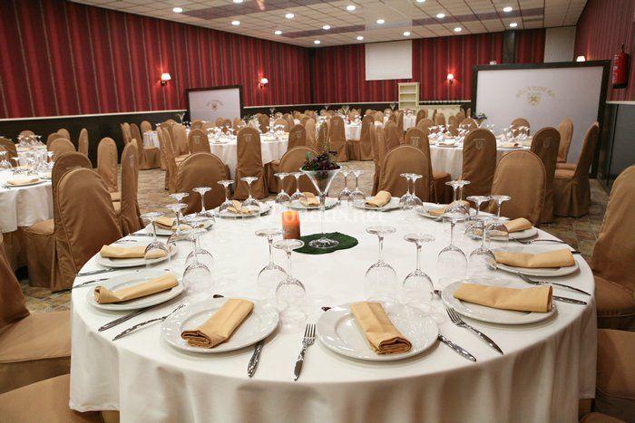 Salones para el Banquete