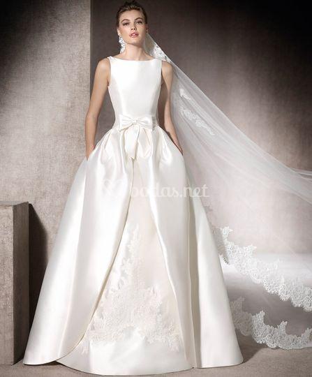 vestidos de novia 2017/2018 de galanovias | foto 21