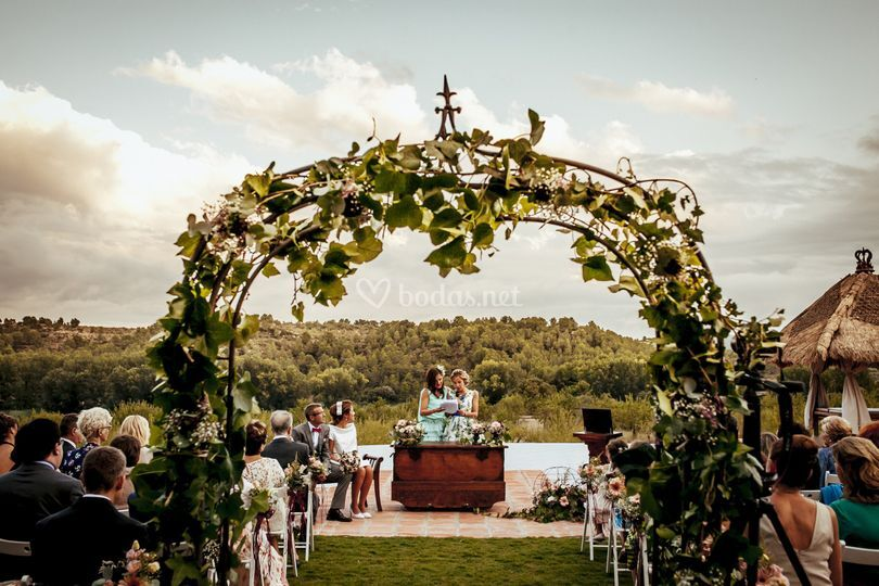 Ceremonia vintage