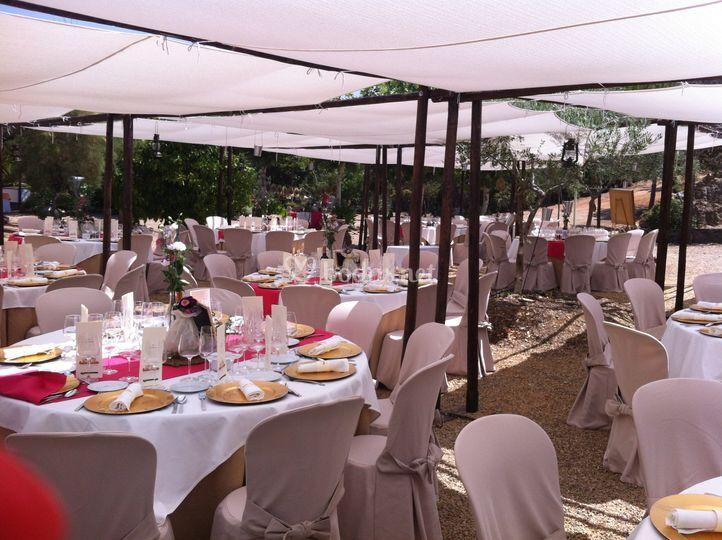 Servicio boda catering