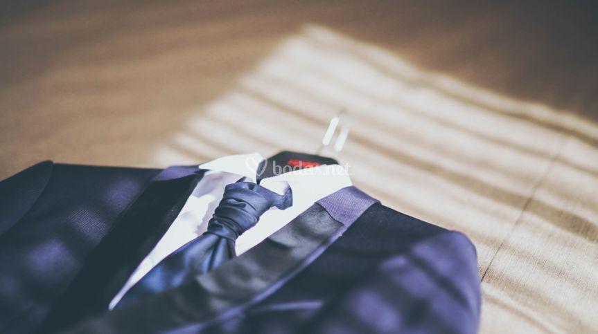 El traje del novio