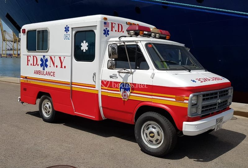Ambulancia americana New York