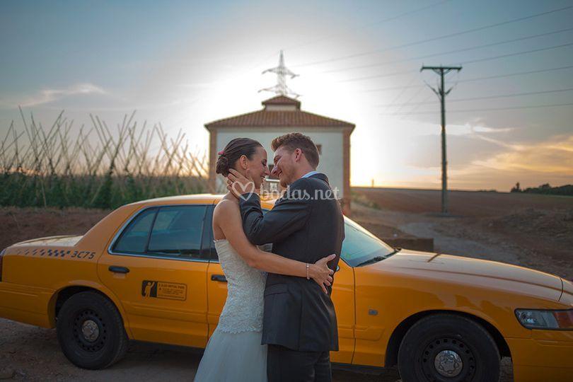 Taxi para boda