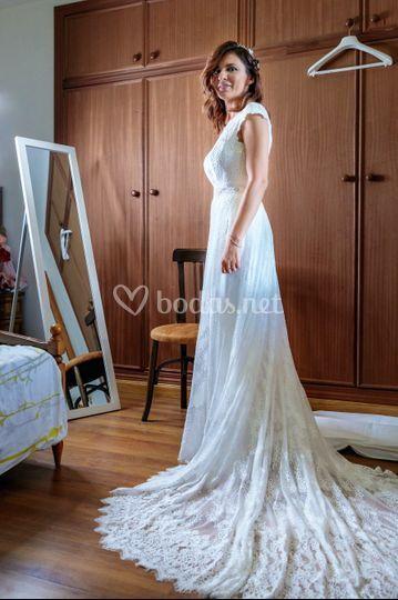 La novia está lista