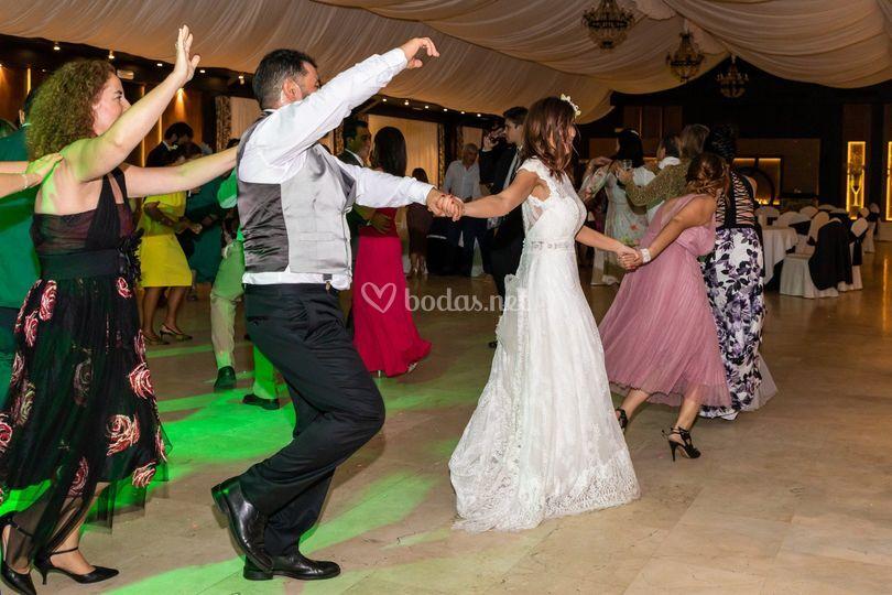 El baile de la novia