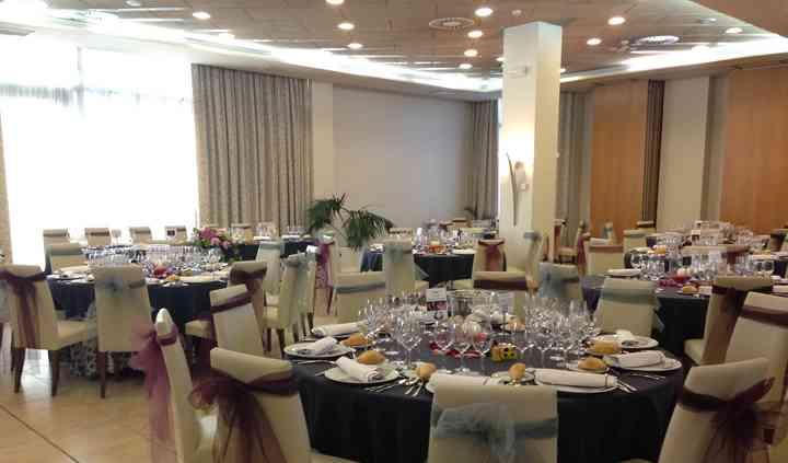 Montaje salón boda