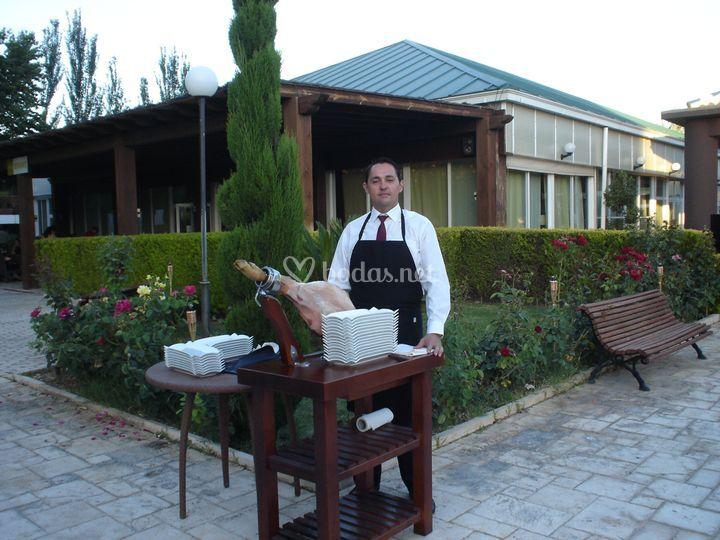 Cortadores y venenciadores sierras for Hotel jardines la tejera