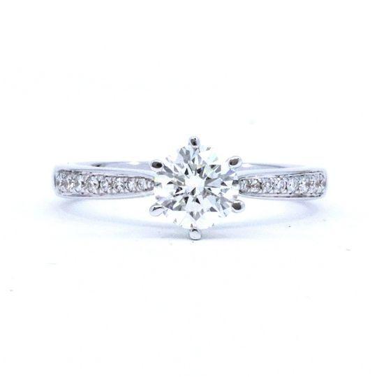 Anillo de Compromiso Diamantes