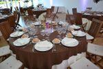 Montaje de la mesa de Pazo San Fernando