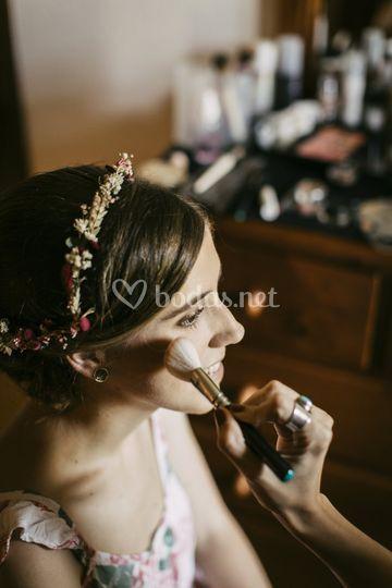 Maquillaje de novia, Sara