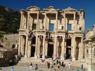 Viaje de novios a Turquía. Biblioteca de Éfeso