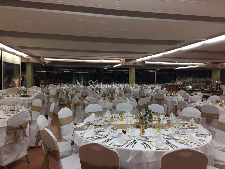 Banquete oyambre